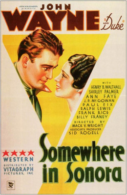Somewhere in Sonora (1933)