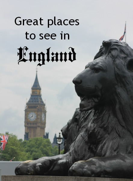 Great things to see in England
