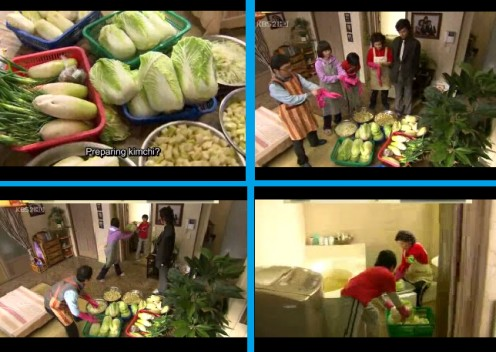 Jun Pyo making Kimchi with Jan Di's Family (Boys over Flowers, 2009)