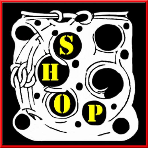"""The Hidden Shop"" Copyright Marian Cates"