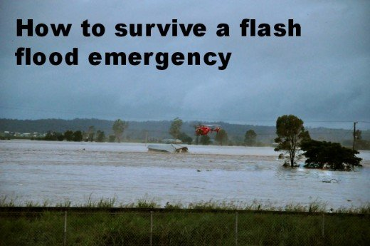 How to survive a flash flood emergency.