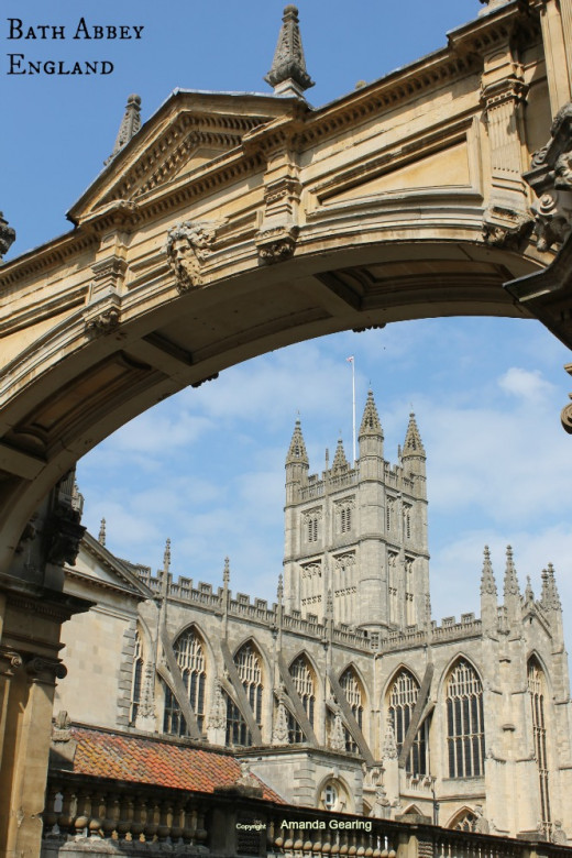 Bath Abbey, Bath, Avon, England