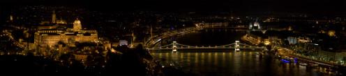 Budapest city lights