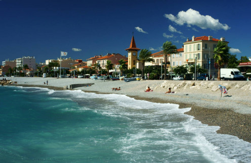 Winter on the Cote d'Azur