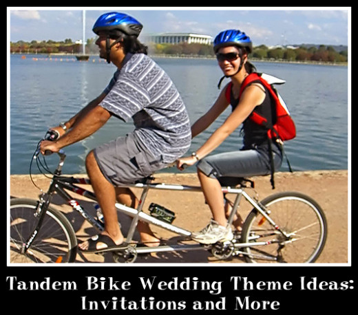 Tandem Bike Wedding Theme Ideas: Invitations and More