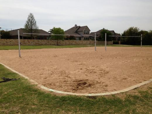 Avery Ranch Volleyball Courts Cedar Park TX
