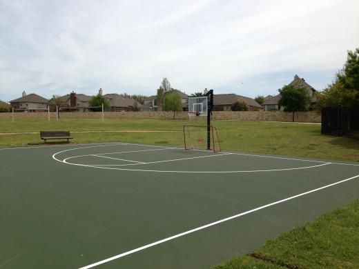 Avery Ranch Basketball Courts Cedar Park TX