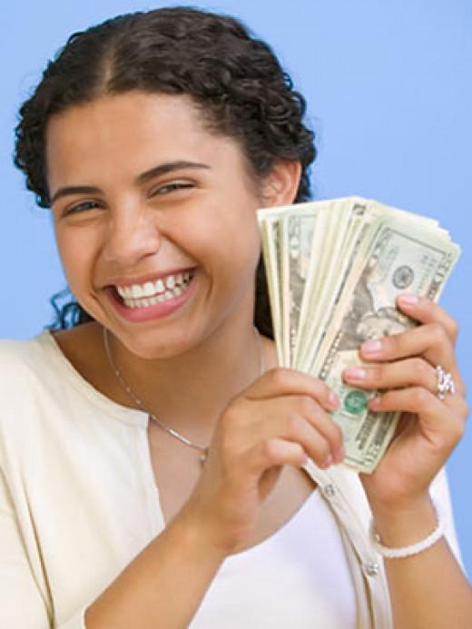 Teen making a lot of money