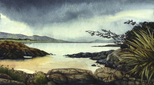 """Kerry Coastline"" by Helen Lush"
