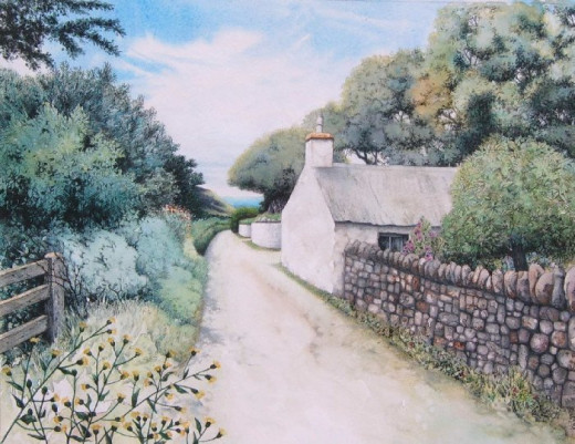 """Down the Lane to the Sea"" by Helen Lush"