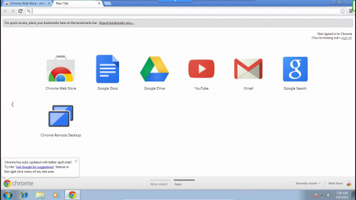 A new tab should open and then the Remote Desktop app should be added to the list of apps.