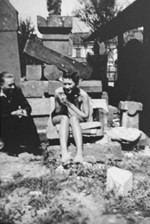 Zofia Baniecka, helped to hide and save over 50 Jews in her home between 1941-1944.  An amazing hero.  This was taken in 1939 evidently.