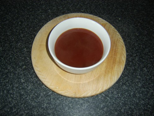 Quick, easy and basic sweet and sour sauce