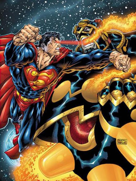 Superman vs Imperiex : One shall fall