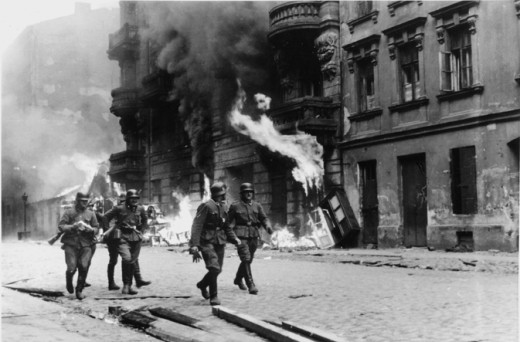 May 1943.  Reported to H. Himmler.  Warsaw Ghetto Uprising.
