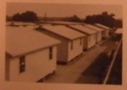 The borrowed portable buildings used as makeshift classrooms.  Photo taken from my 1982 John Tyler High School Alcalde.