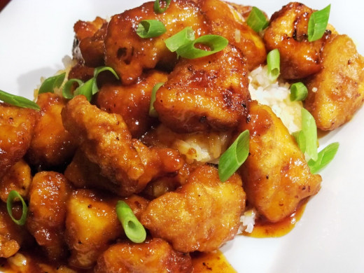 Sweet and Sour Chicken with some variation