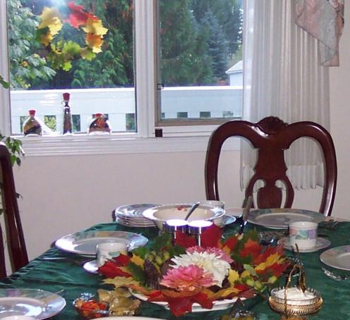 Photo: Fall Table Centerpiece