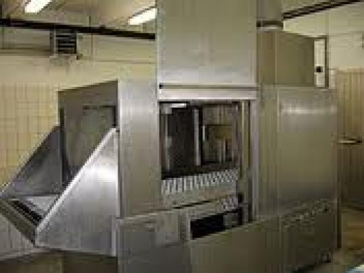 Sample Commercial Dishwasher.