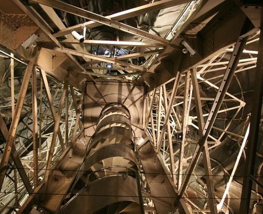 Interior view of the Statue of Liberty, Author: Daniel Schwen