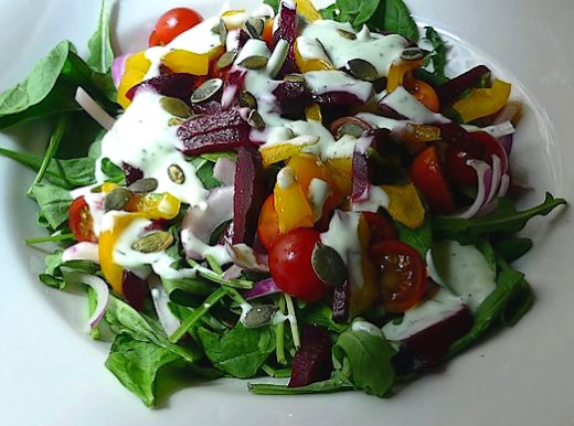 Pepitas add crunch, taste and boost the nutrients in salads