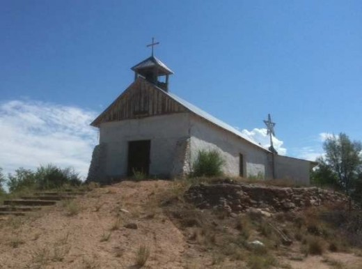 Penitente Church in La Puebla, NM.