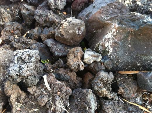 Lava Rock is Porous