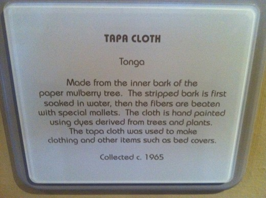 Definition of Tapa Cloth