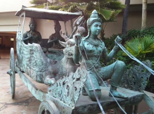 Bronze Life-Size Statue