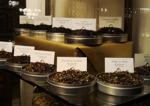 There are so many different types of teas to choose from...all magical in their own way.