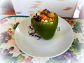 Recipes: Bell Peppers, Stuffed Cowboy-Style