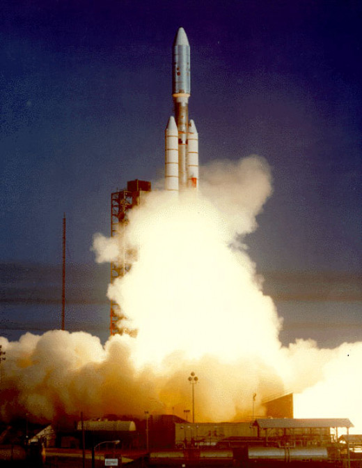 Voyager 2 Launch