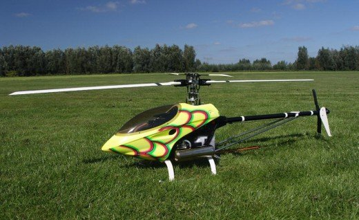 Raptor Radio-remote controlled helicopter