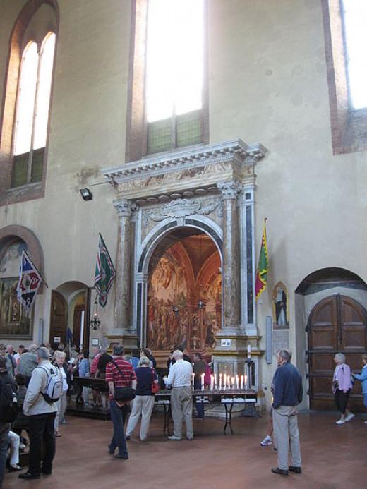 The reliquary-St Catherine of Siena - Basillica San Domenico