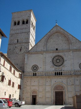 Cathedral of San Rufino, Assisi