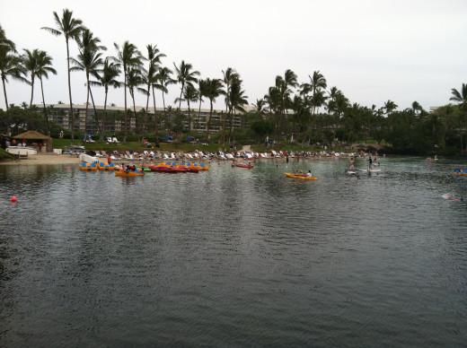 Lagoon Scene