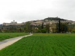 Visiting Assisi, Italy