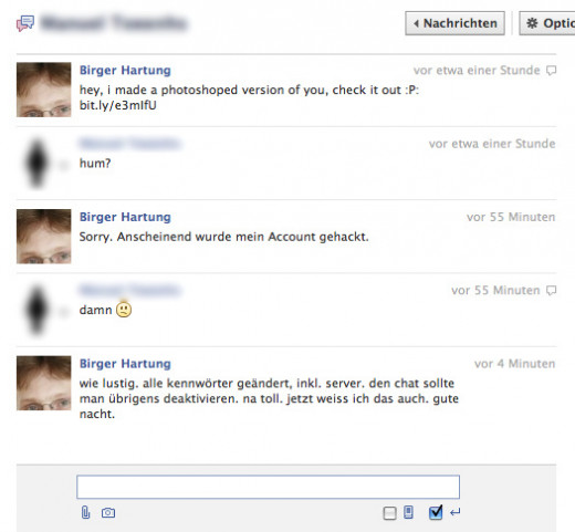 A Facebook Chat