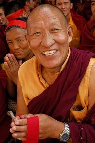 Experienced meditators tend to be happier than non-meditators.