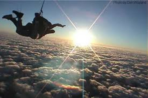The Entrepreneurial Skydive