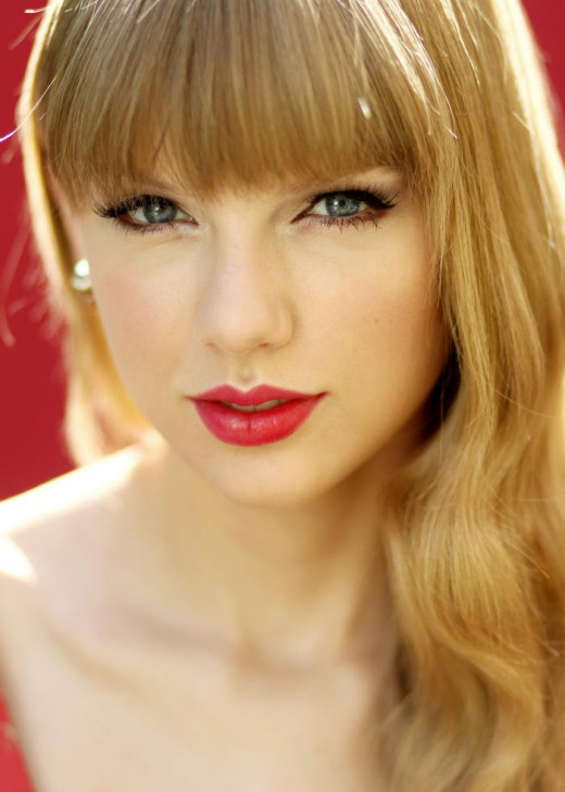 Taylor Swift Matte Red Lips