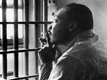 MLK, Jr. Reflecting in Jail
