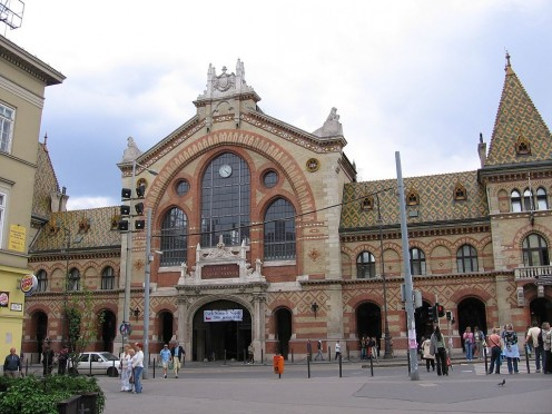 The Central Market Hall of Budapest
