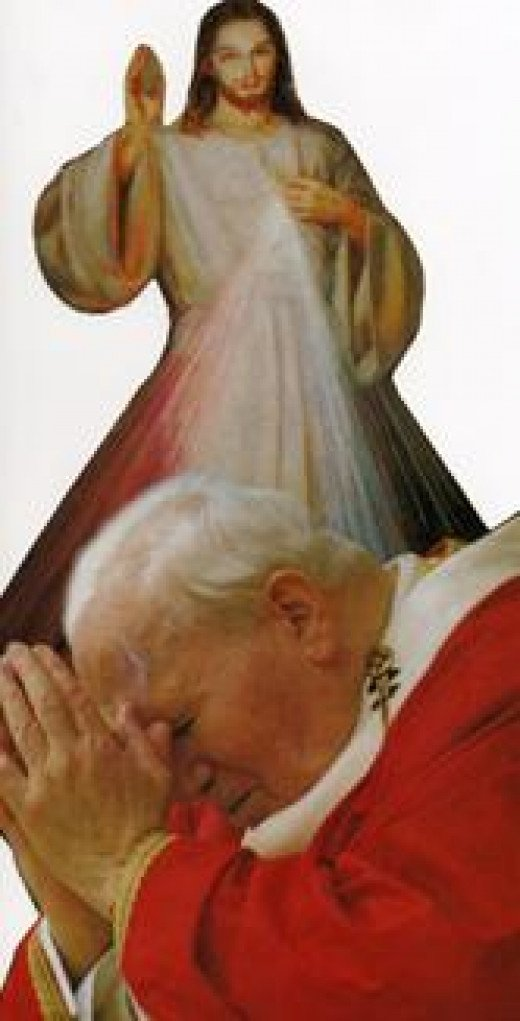 The great Pope John Paul II introduced the Feast of Divine Mercy in the year 2000