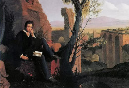 Posthumous Portrait of Shelley Writing Prometheus Unbound, by Joseph Severn