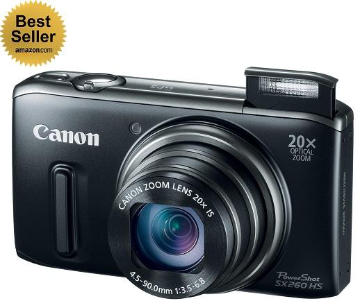The Canon PowerShot SX260: Amazon.com's best seller compact camera
