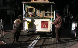 Cable Car at Powell & Market