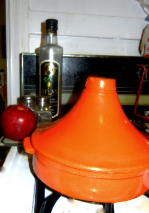 The tajine, or tagine, pot.