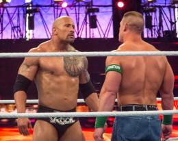 John Cena vs. The Rock, WrestleMania 28