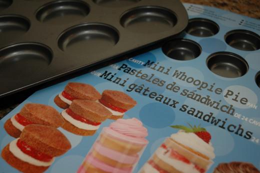 Regular and Mini Whoopie Pie Pans (Wilton).